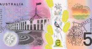 Australischer-5-Dollar-Schein-Rückseite