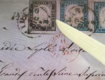 Fehler beim Briefmarkenverkauf vermeiden- nicht vom Umschlag ablösen