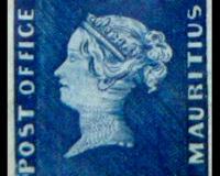 Two Pence Blue briefmakre