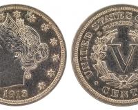 Liberty Nickel aus dem Jahr 1913