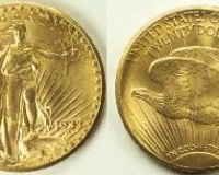 St. Gaudens Double Eagle von 1933