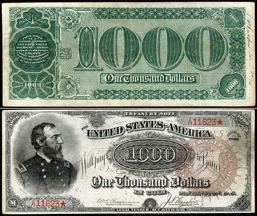 1890 Grand Watermelon Note