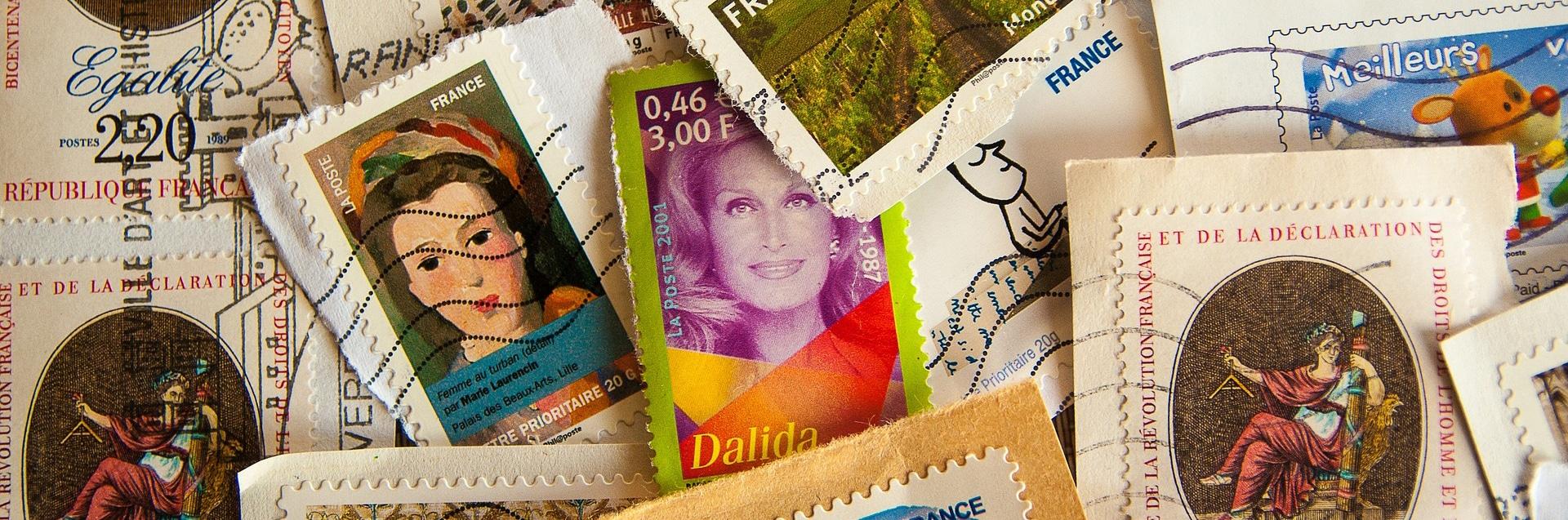Briefmarken verkaufen