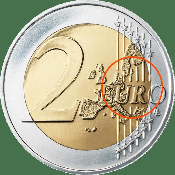 2-Euro-Münze ohne EU-Osterweiterung Quelle: Wikipedia.org